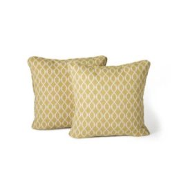 Square pillows pictured in a cover that is currently unavailable